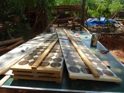 Up cycling broken Solar Panels – Treehouse Design, Part 5